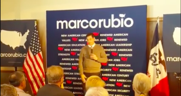 Marco Rubio's response to an Atheist is going viral.